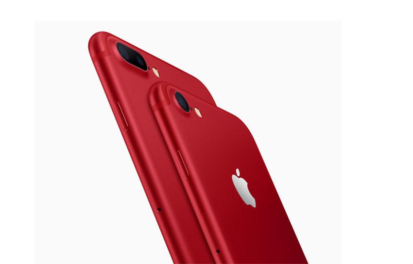 iPhone 7 merah