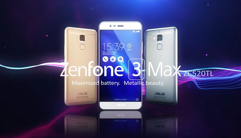 Update Software Zenfone 3 Max