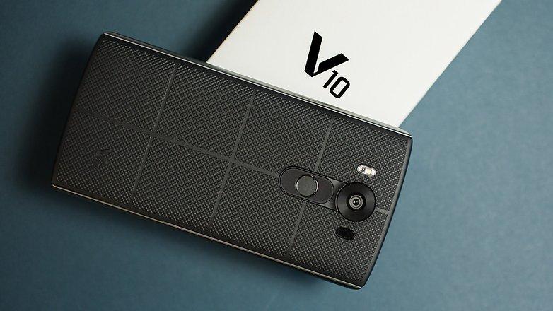 update Android Nougat untuk LG V10