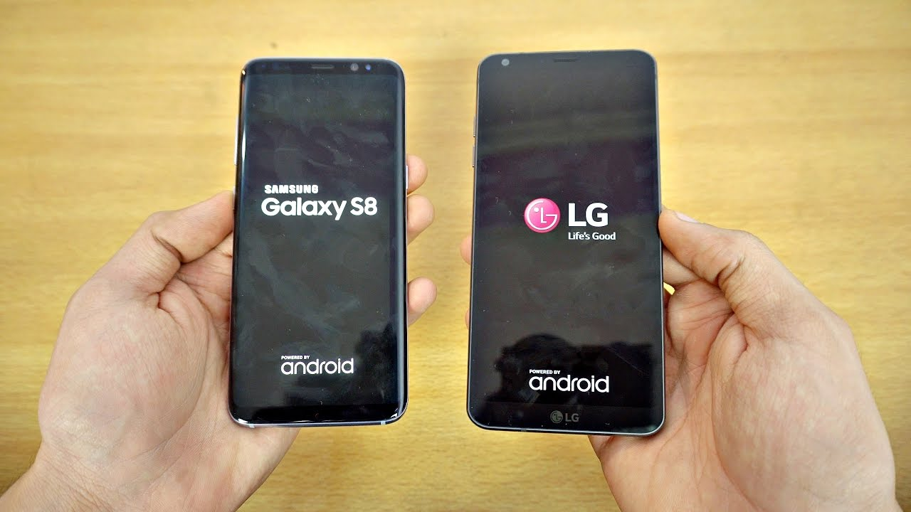 Speed Test Galaxy S8 vs LG G6