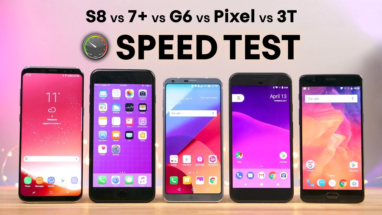 Speed Test Lima Smartphone Flagship