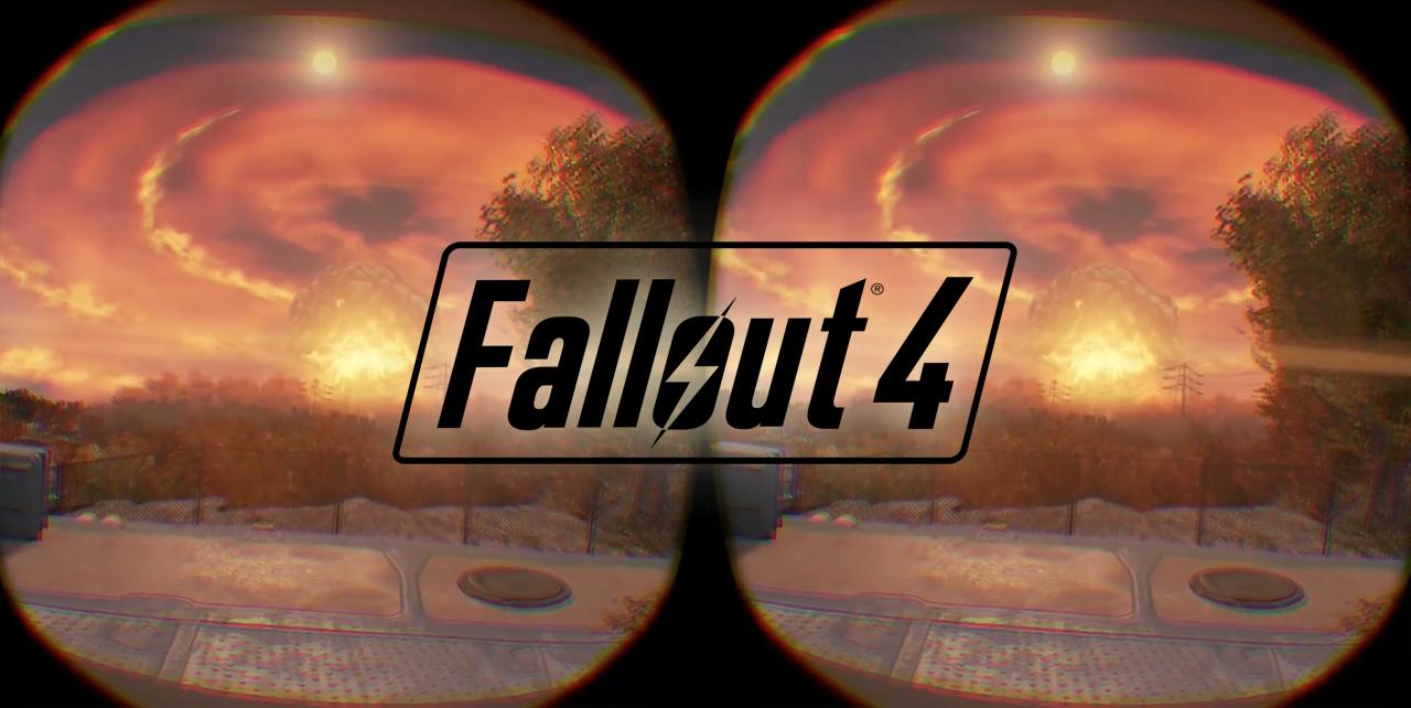 trailer Fallout 4 VR