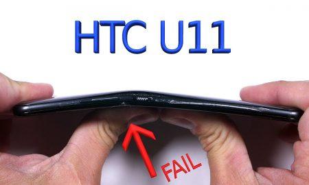 Durability test HTC U11