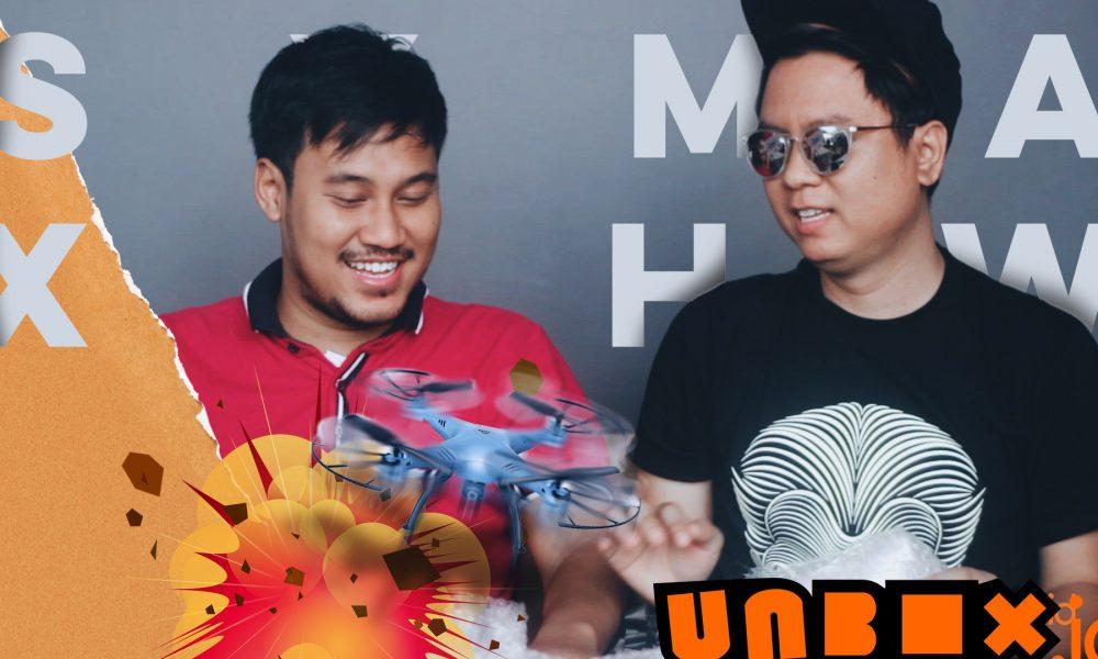 Unboxing Drone Syma X5HW