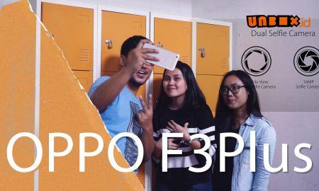 Camera Selfie Oppo F3 Plus