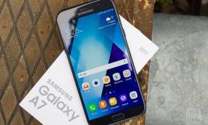 Update Nougat Galaxy A7 (2017)