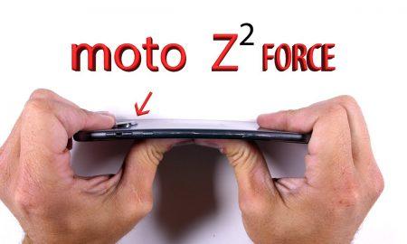 Moto Z2 Force Durability Test