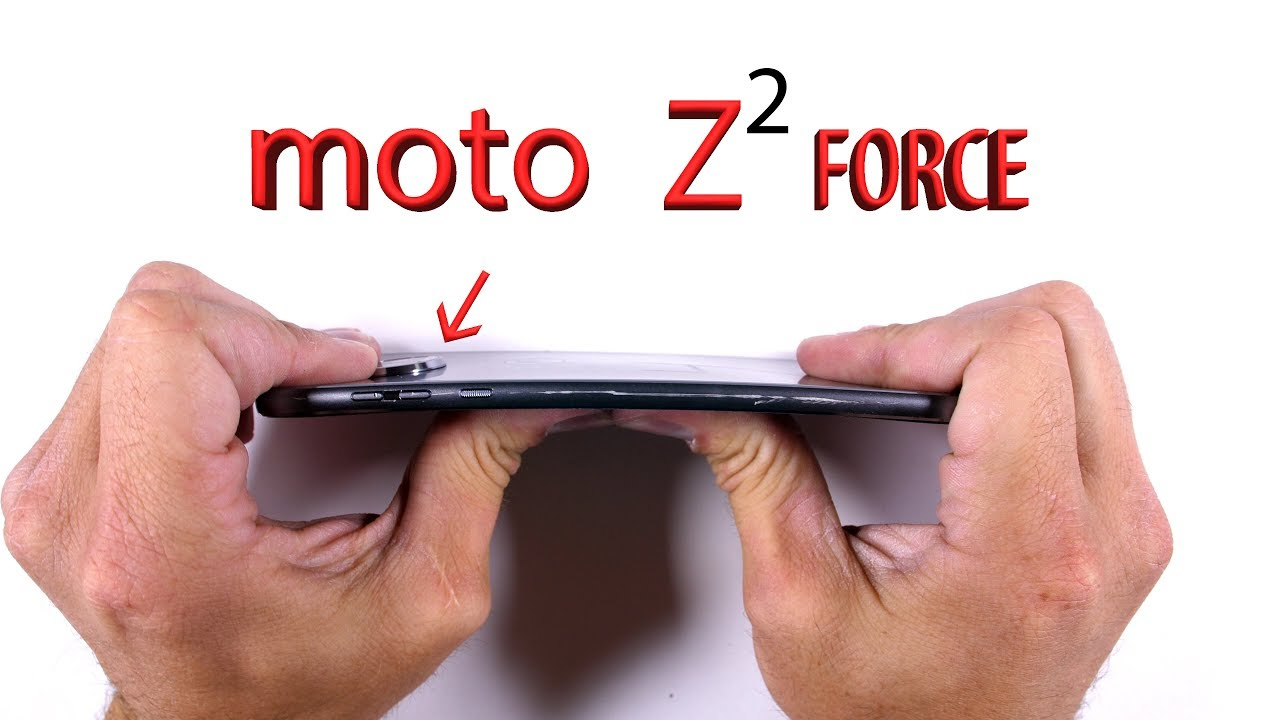 Moto Z2 Force Durability Test