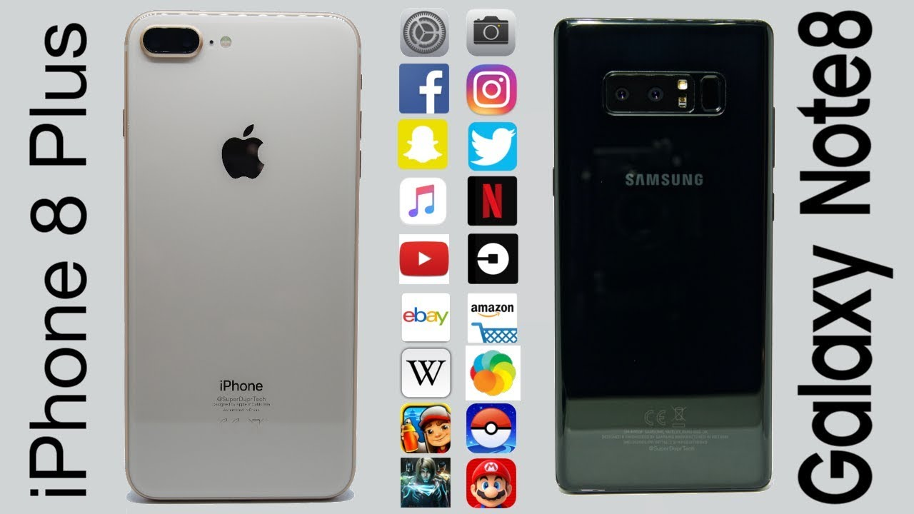 Tes Multitasking IPhone 8 Plus Vs Galaxy Note 8 Beda