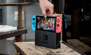 nintendo switch terjual