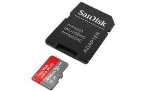 MicroSD Berkapasitas 400 GB