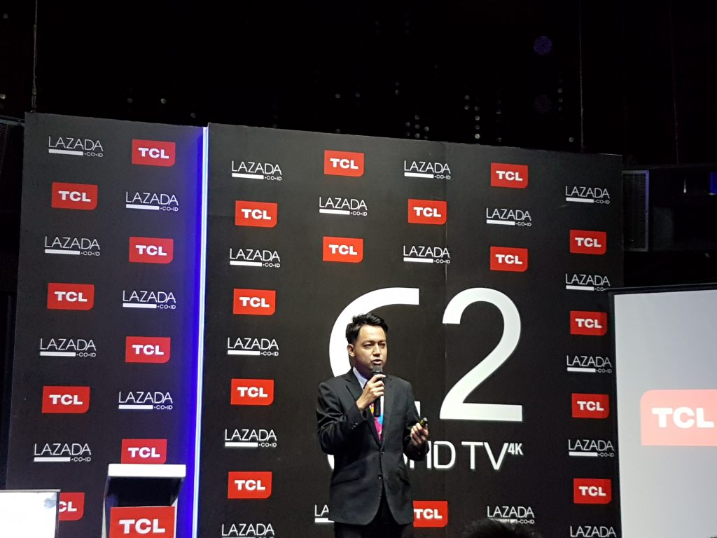 TCL C2 Luncur, TV UHD Pintar Berbasis Android - Unbox id