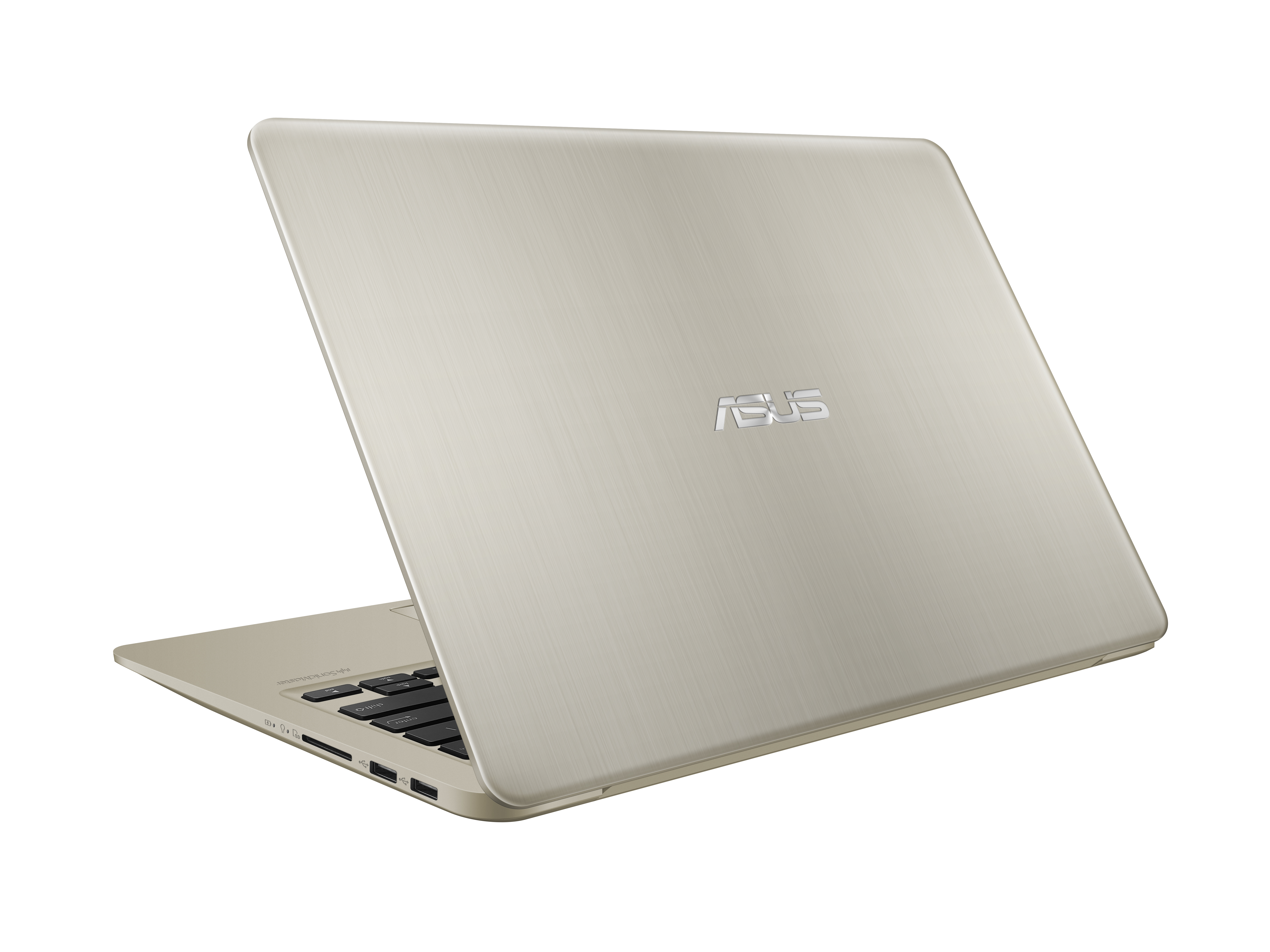 VivoBook S14 S410 Product photo Icicle Gold 01