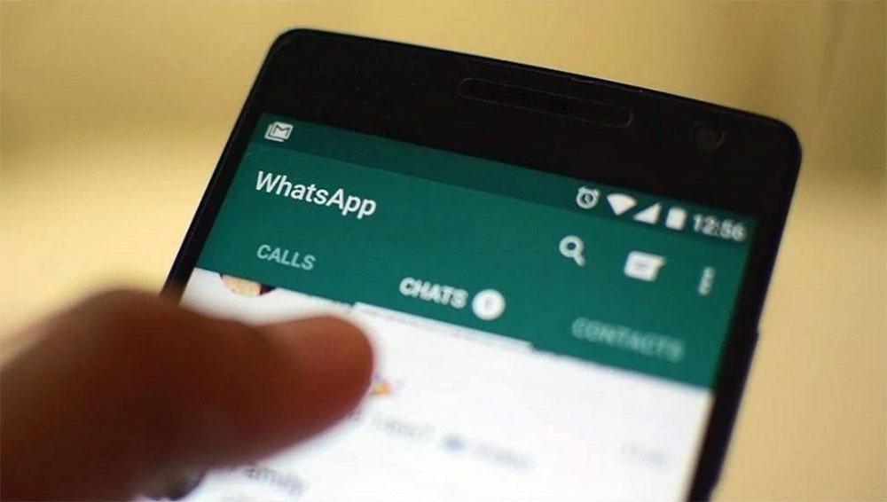 Tampilan layar WhatsApp terbaru