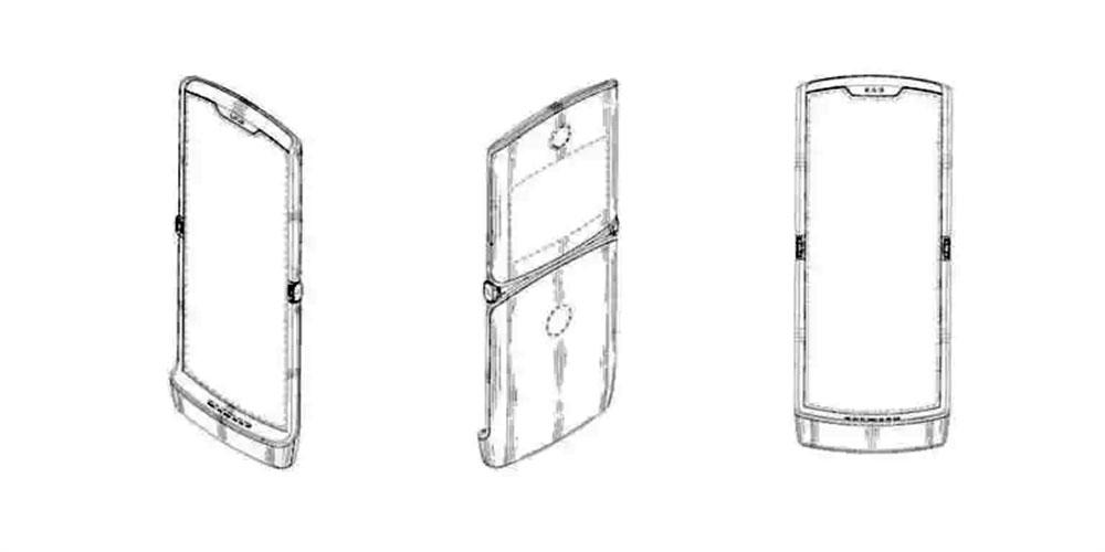 Desain Motorola lipat terbaru