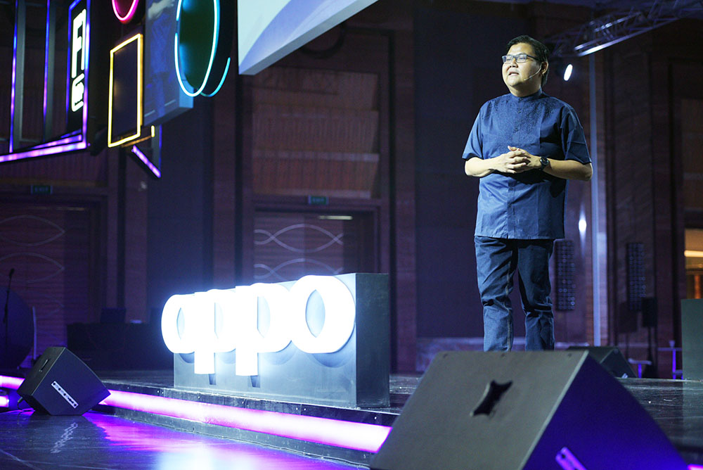 Aryo Meidianto A., PR Manager OPPO Indonesia.
