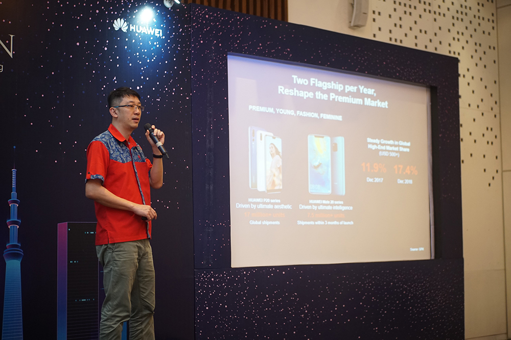 Lo Khing Seng, Deputy Country Director HUAWEI Device Indonesia