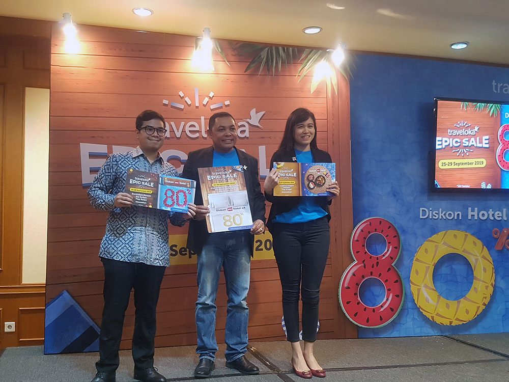 Traveloka EPIC SALE: Program Diskon 80 Persen Selama 5