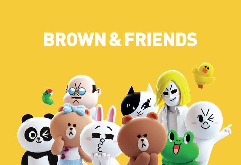 Karakter Brown & Friends