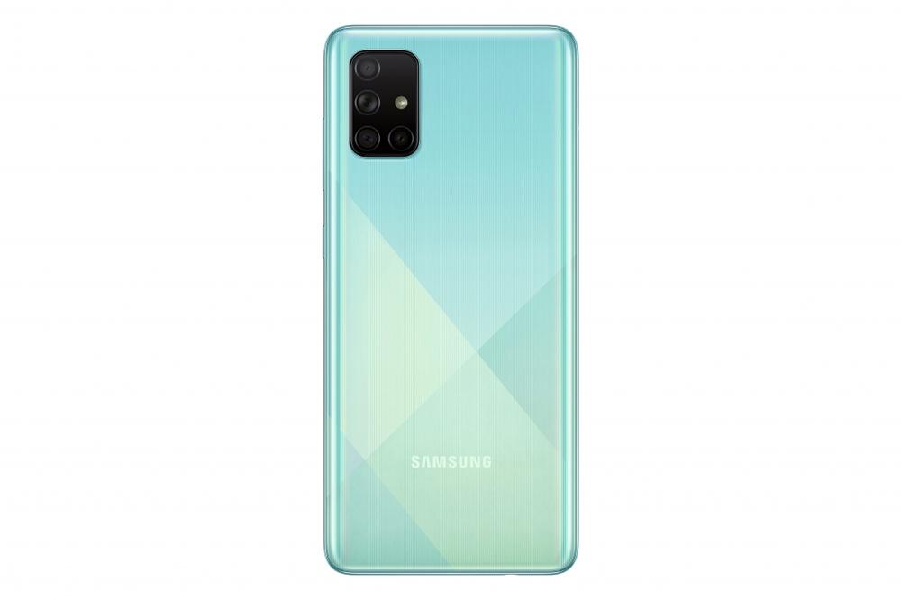 Samsung Galaxy A51 tampak belakang