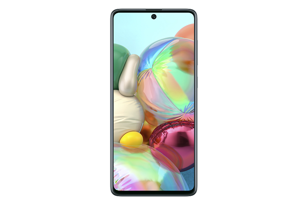 Samsung Galaxy A71 Tampak Depan