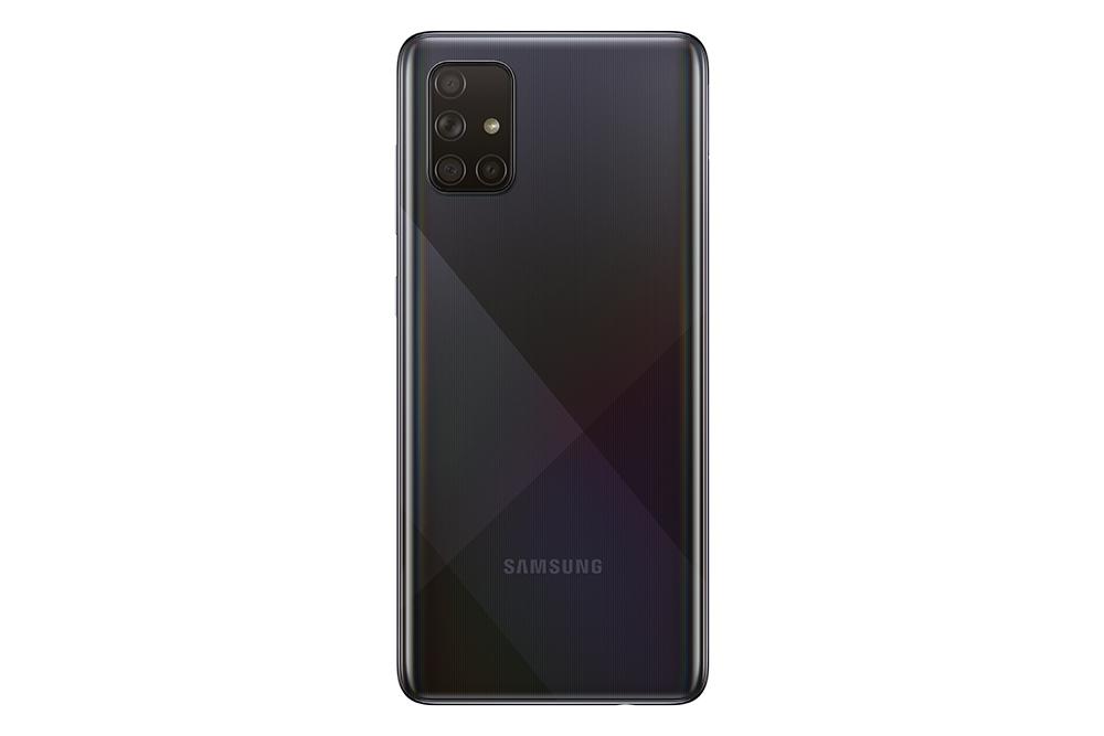 Samasung Galaxy A71 tampak belakang