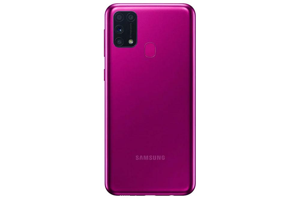 Samsung M31 berwarna merah