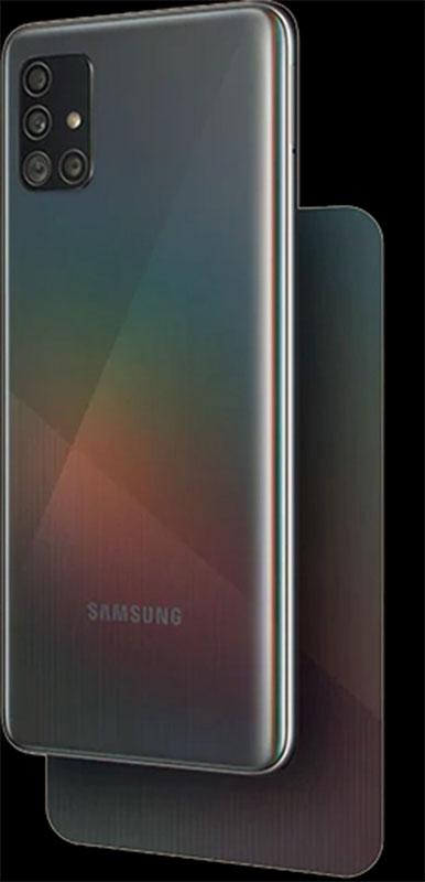 Galaxy A51 RAM 8GB ROM 128GB  warna Prism Crush Black