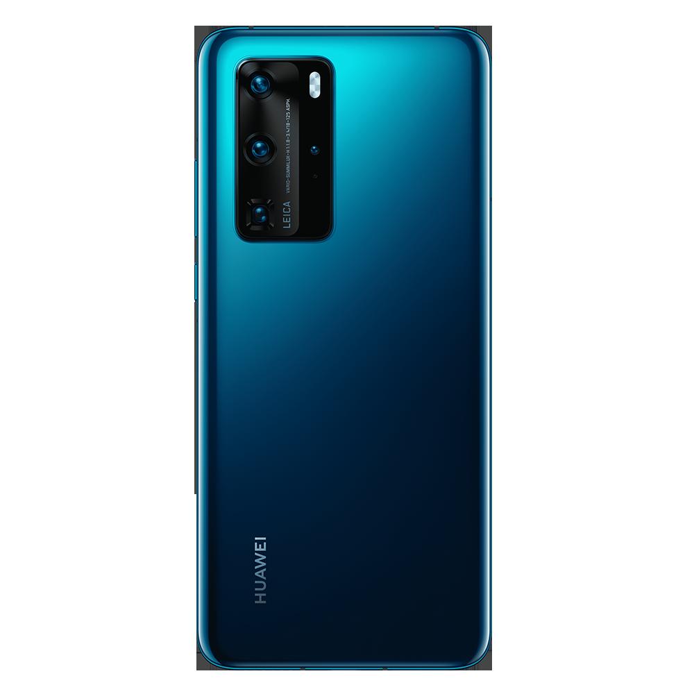 Huawei P40 Pro warna Deep Sea Blue