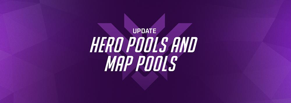 Update Hero Pool dan Map Pool