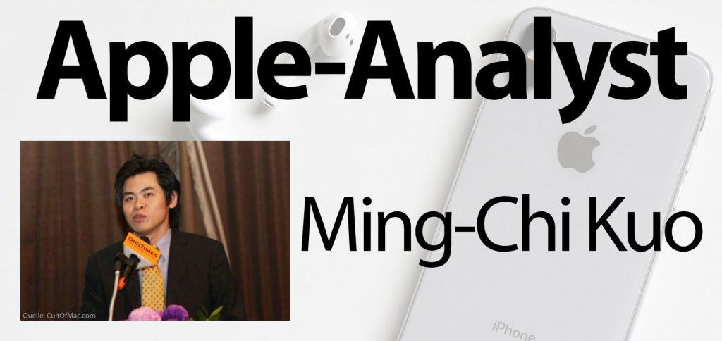Analis Apple Ming Chi-Kuo
