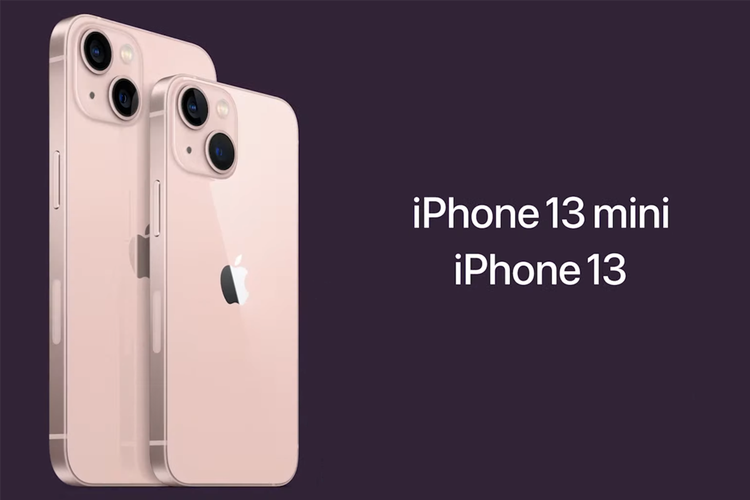 iPhone 13 dan iPhone 13 mini