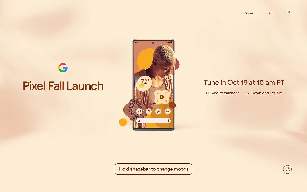 Pixel 6 launch